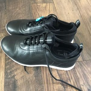 NEW Johnston & Murphy Prentiss Leather Sneakers